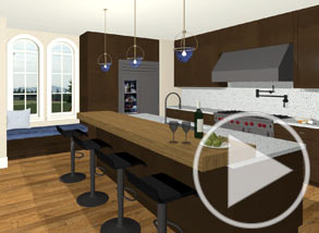 Kitchen remodel and kitchen design video