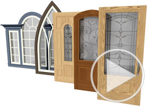 Custom door and window styles video