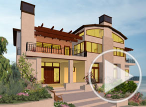 Example Home Design By Chief Architect Software. Barrel Roof And Barrel  Ceiling Video