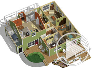 Merveilleux Dollhouse View To Visualize Floor Plan And Space Planning Video