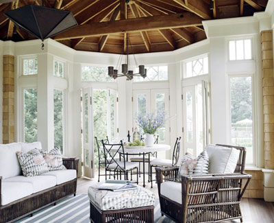 Home design tips ceiling chic for Natural wood beams