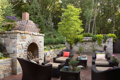 Outside Living Space home design tips - creating an outdoor living space