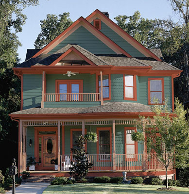 Home design tips paint colors for exteriors for Can you use exterior paint inside a house