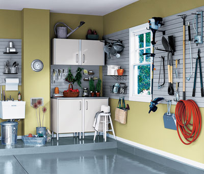 Home Design Tips - Storage-Smart Garage