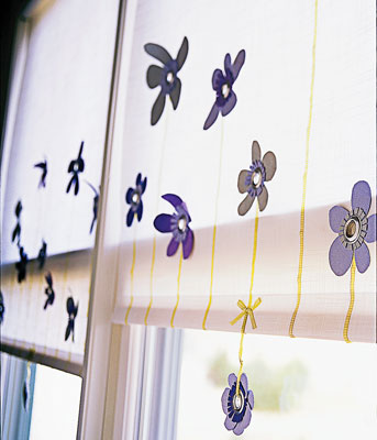 An example of a roller shade
