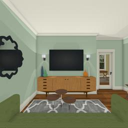 Crafting Modern foyer 360° panorama