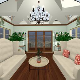 Italian Manor conservatory 360° panorama