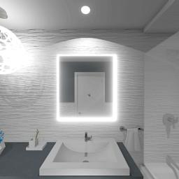 A small bathroom interior designed by Tanya Woods.