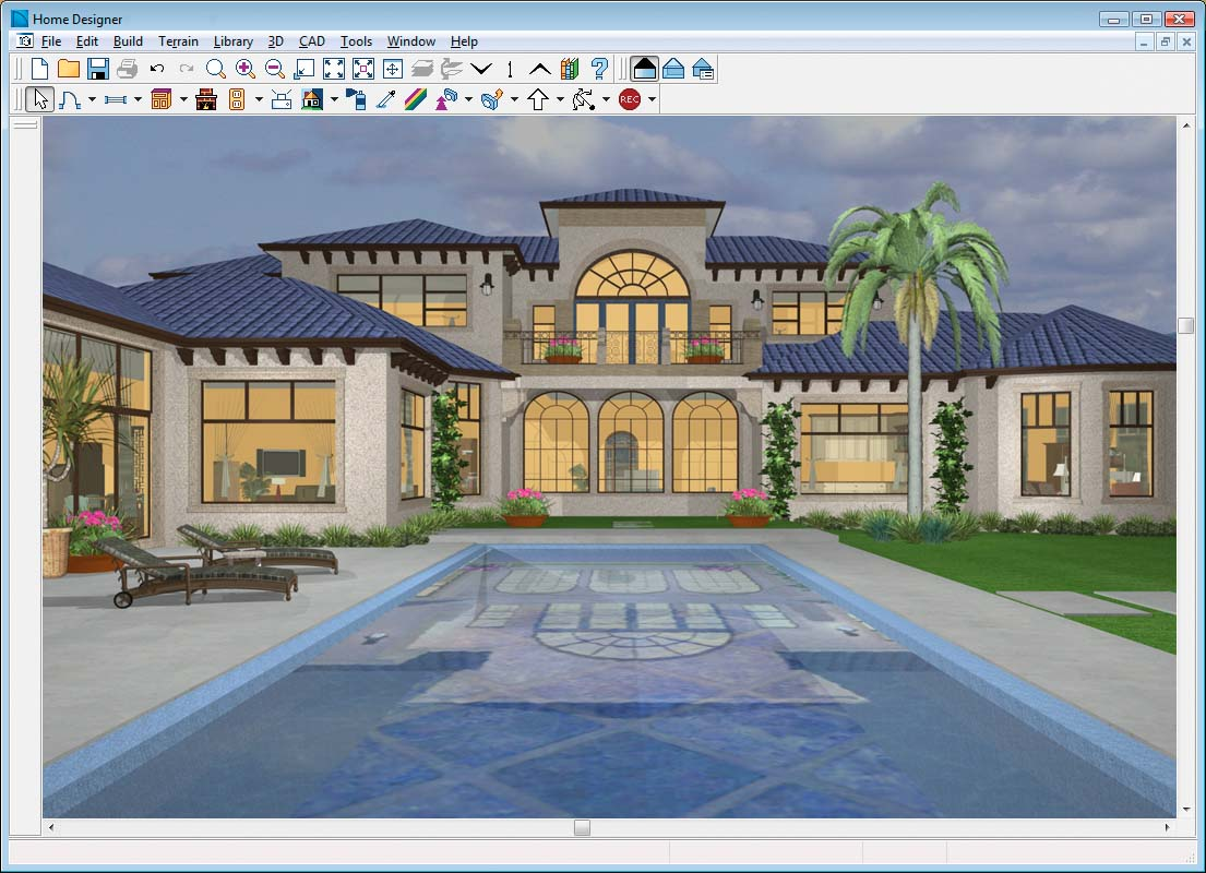 Chief architect home designer 9 0 Complete home design software