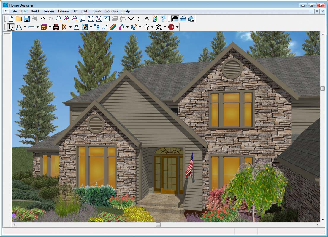 Home designer architectural Design the outside of your house online