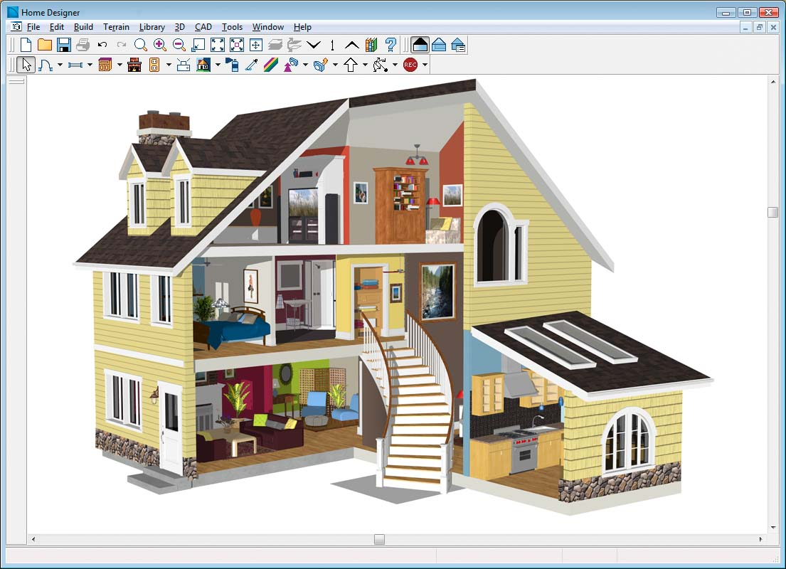 Home designer architectural Easy home design program