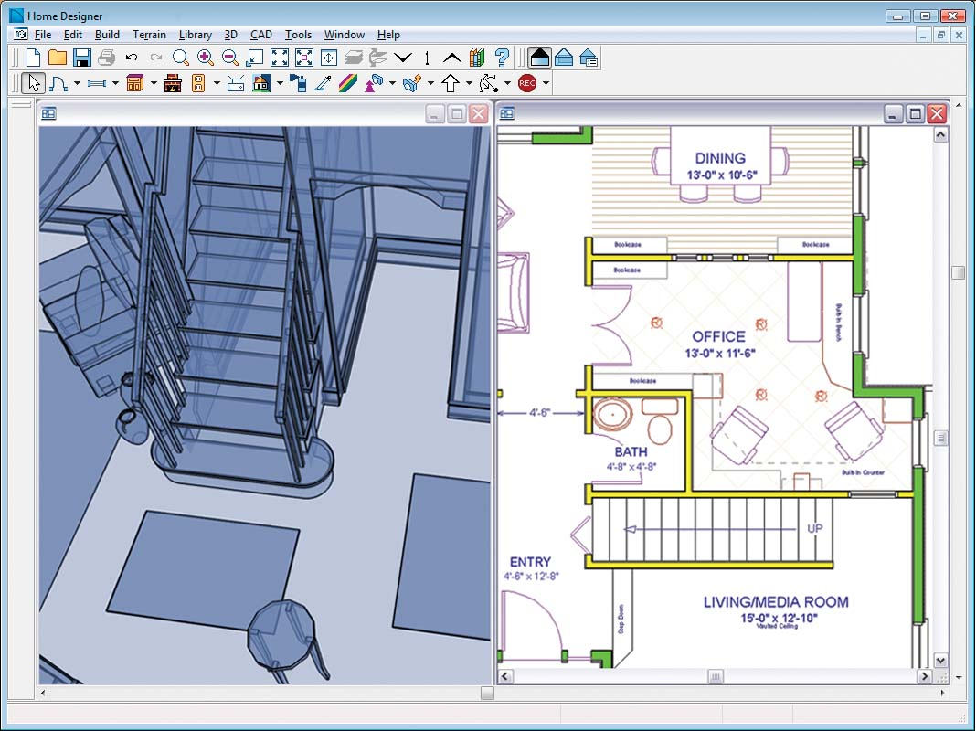 Home designer essentials for Interior architecture software