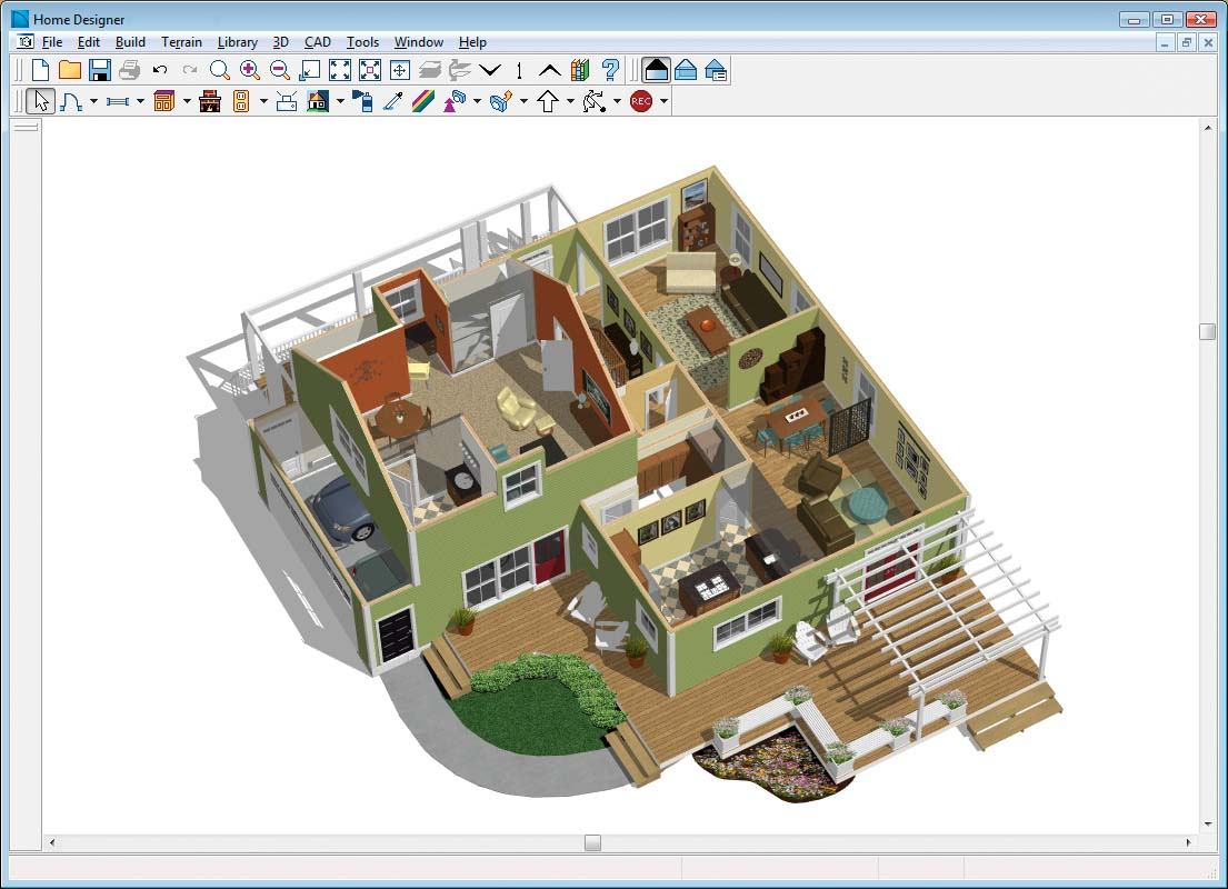 3d home architect software free download for windows xp