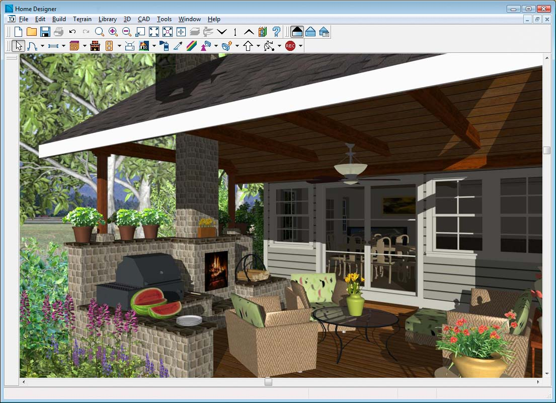Yes Landscaping Custom Free Landscape Design Program 3d