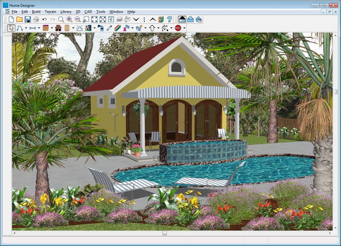 Amazing Tropical Landscaping Ideas around Pool 1105 x 800 · 237 kB · jpeg