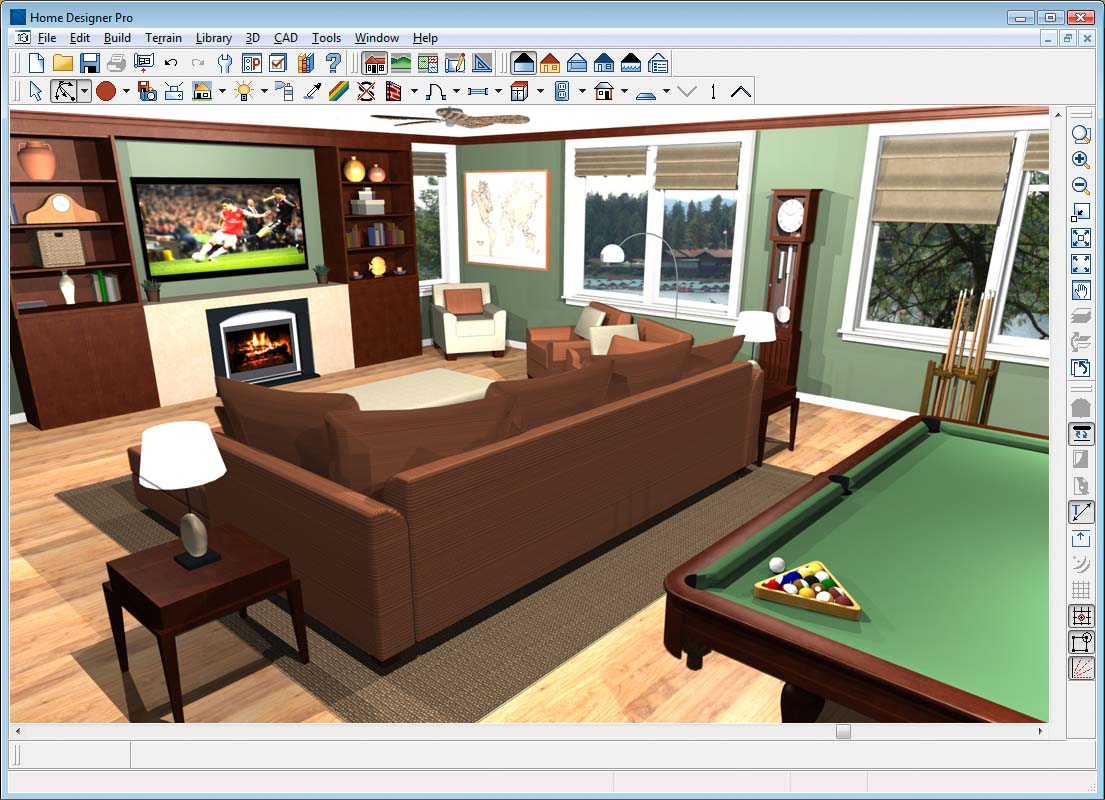 Home designer pro House room design software