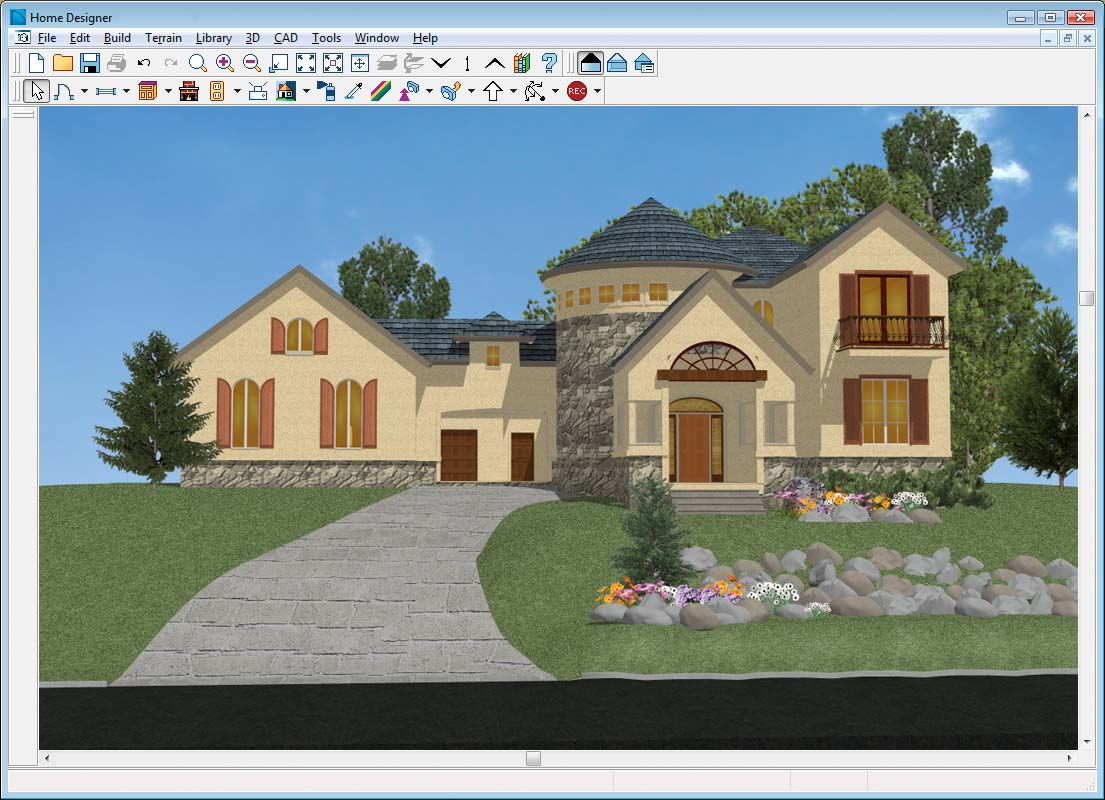 Home Design Suite Chief Architect Home Designer
