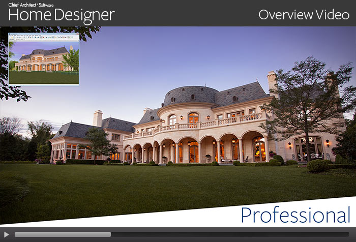 Exceptionnel Home Designer Professional Overview Video
